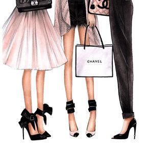 Happy Print by Norma Garcia